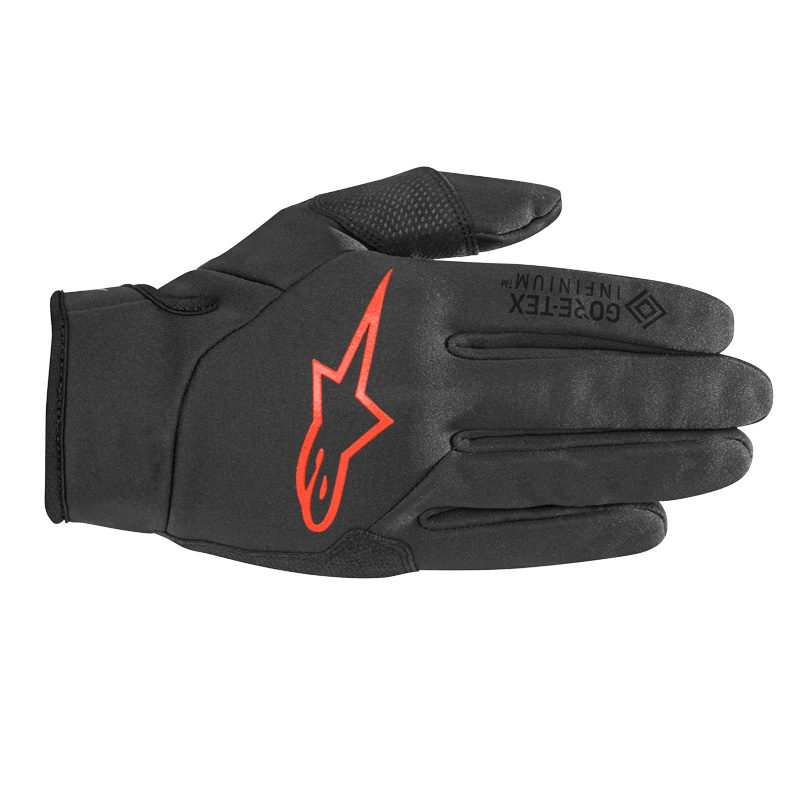 Alpinestars Cascade Gore-Tex Infinium Windstopper Glove - black/red