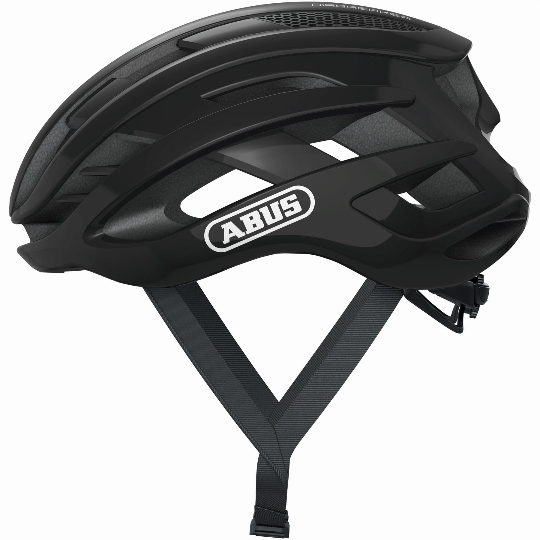 ABUS AirBreaker Casco Bicicleta - shiny negro