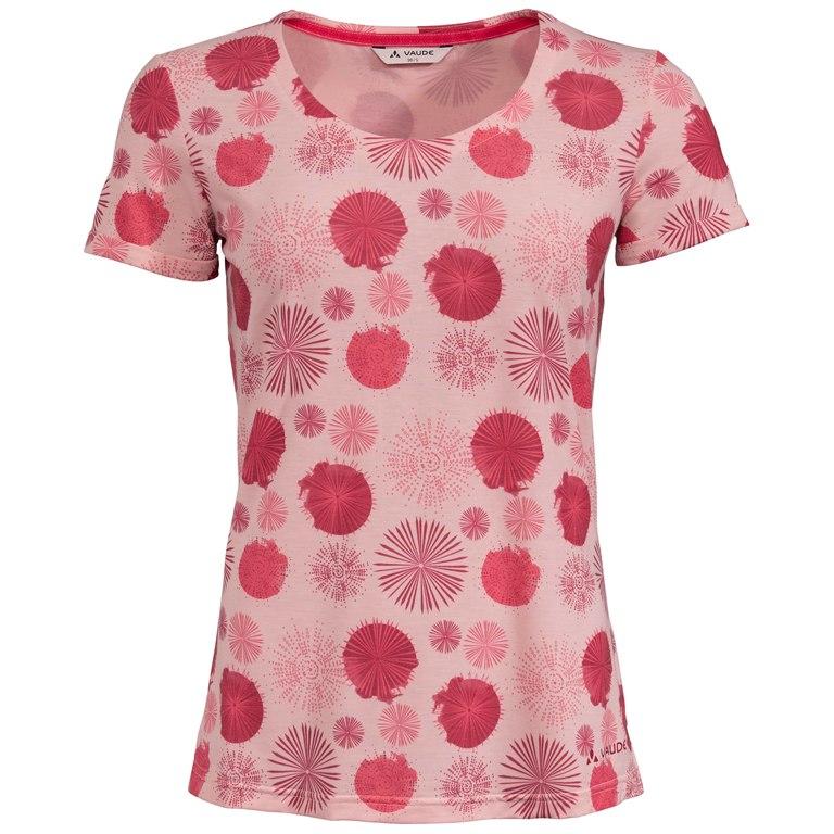 Vaude Skomer All Over Print T-Shirt Damen - rosewater