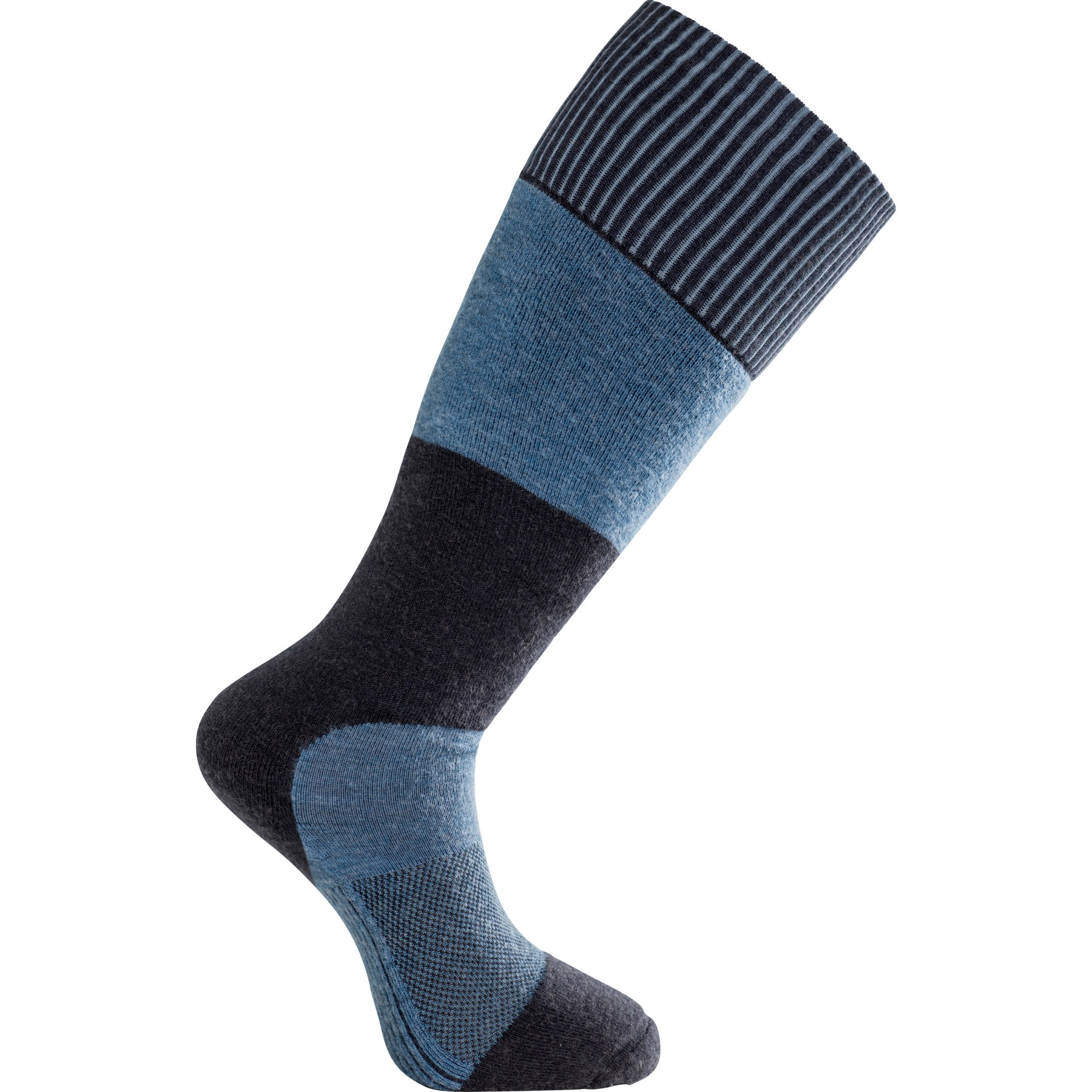 Bild von Woolpower Skilled Knee High 400 Kniestrümpfe - dark navy/nordic blue
