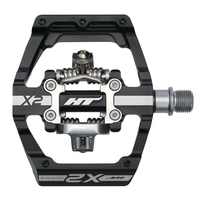 Produktbild von HT X2 Klickpedal Aluminium - schwarz