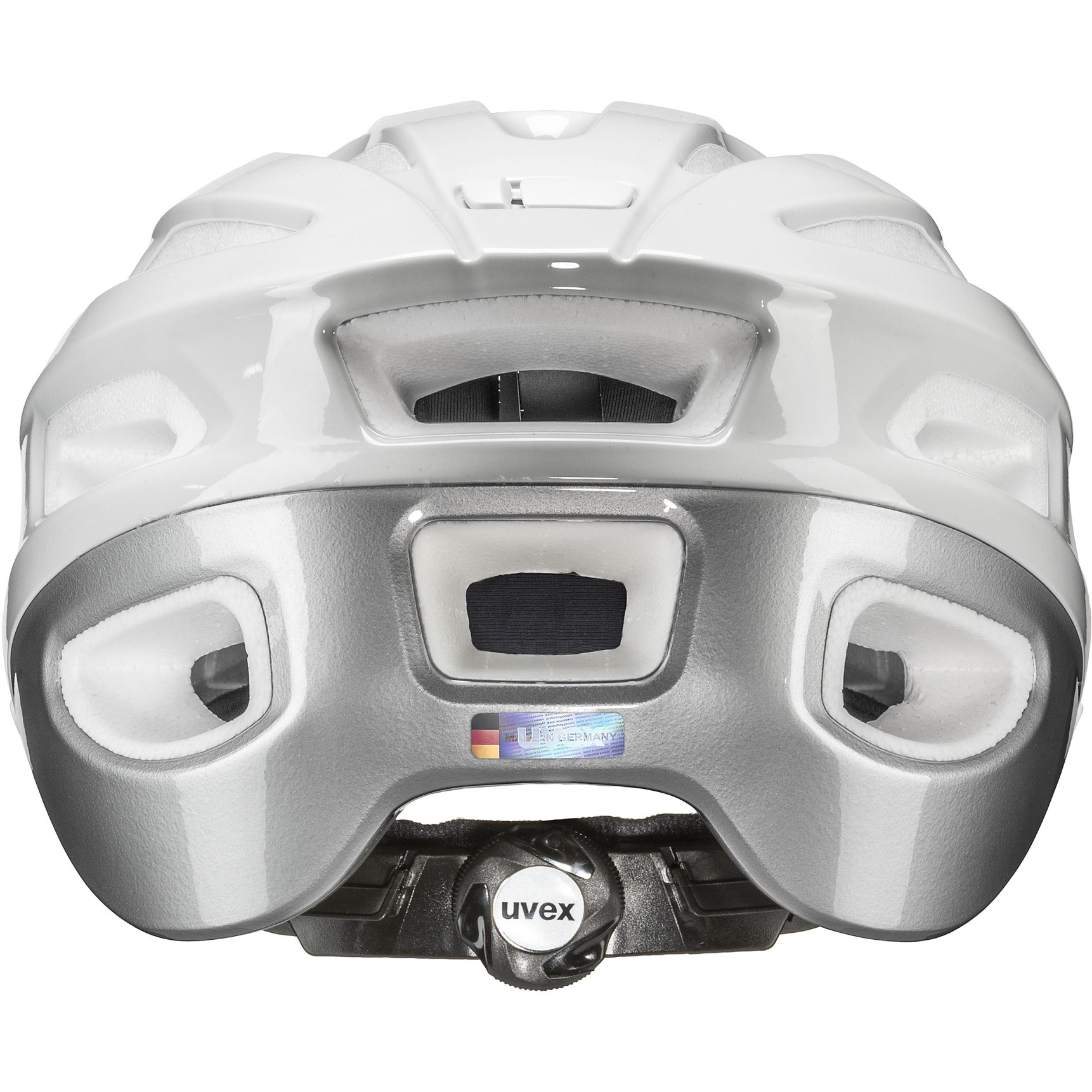 Image of Uvex true Helmet - white-silver