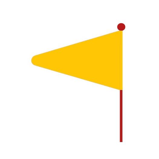 Image of Bike Fashion Safety Flag