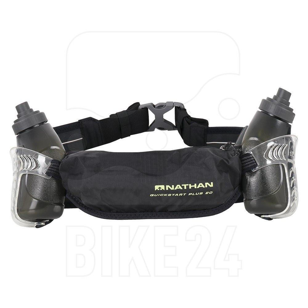 Nathan Sports QuickStart Plus 20 Hydration Belt - Black