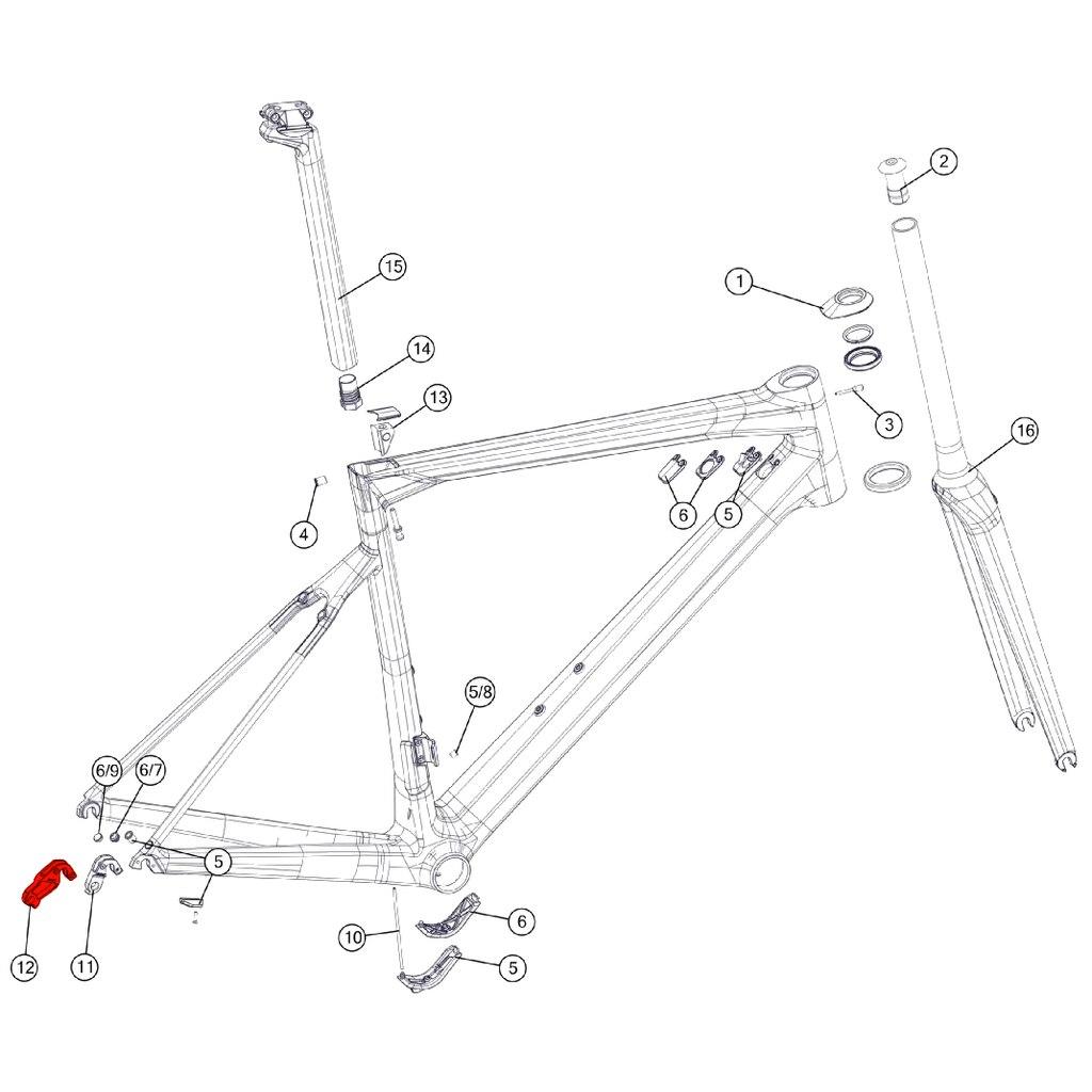 BMC Derailleur Hanger #57 - 301091