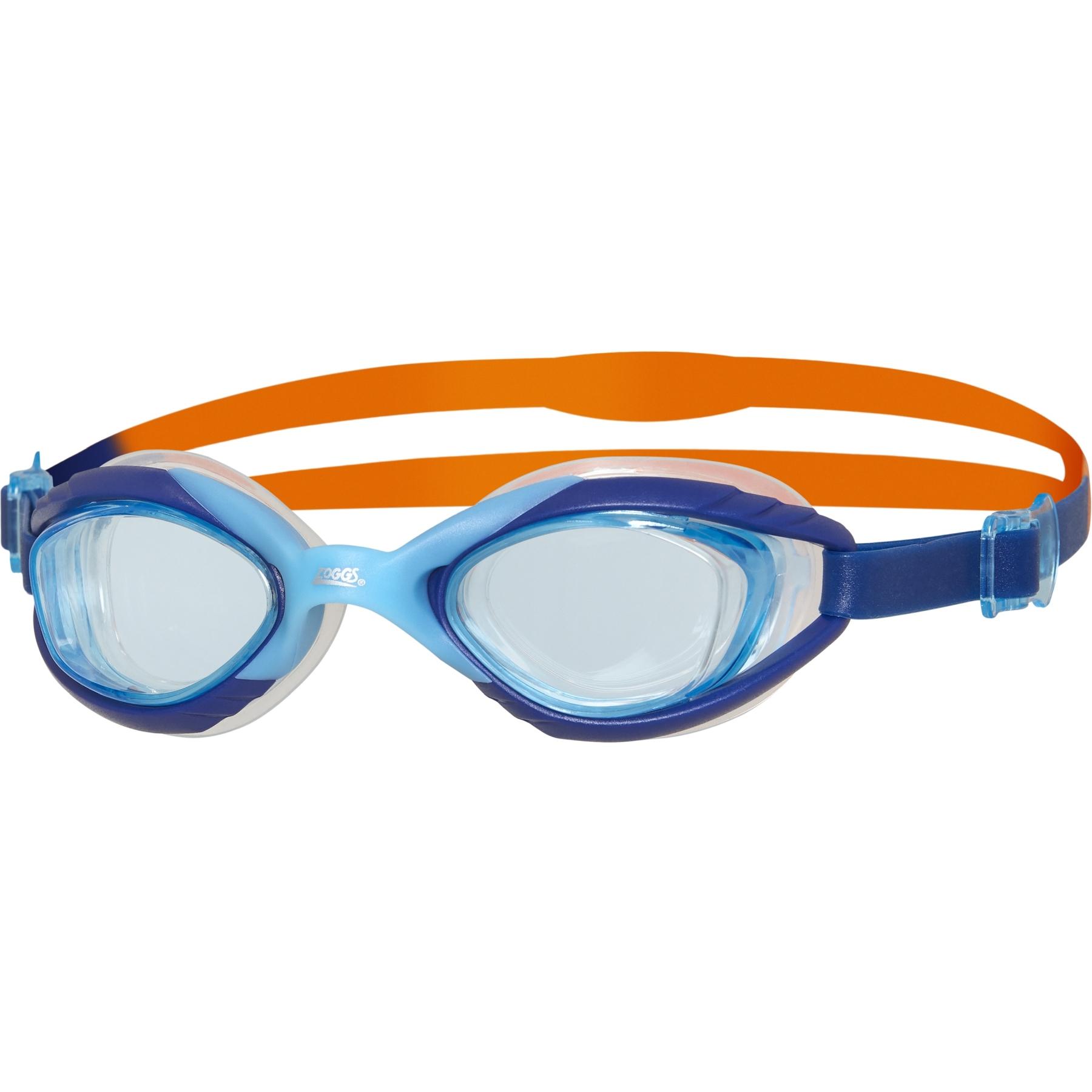 Zoggs Sonic Air Junior 2.0 Kinder Schwimmbrille - Blue/Orange/Tint