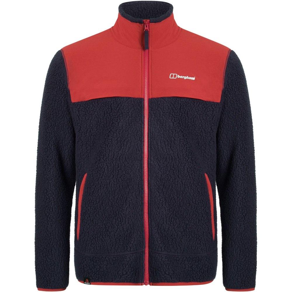 Berghaus Men's Syker Fleece Jacket - Dusk/Red Dahlia AQ1