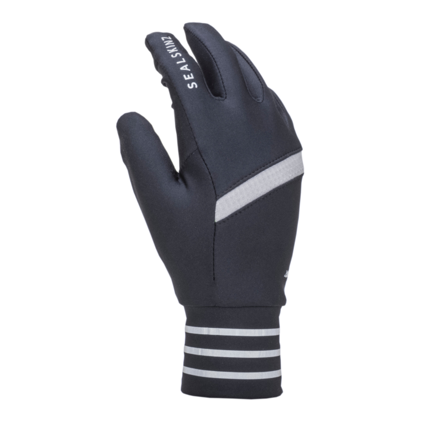 Picture of SealSkinz Solo Reflective Glove - Black/Grey