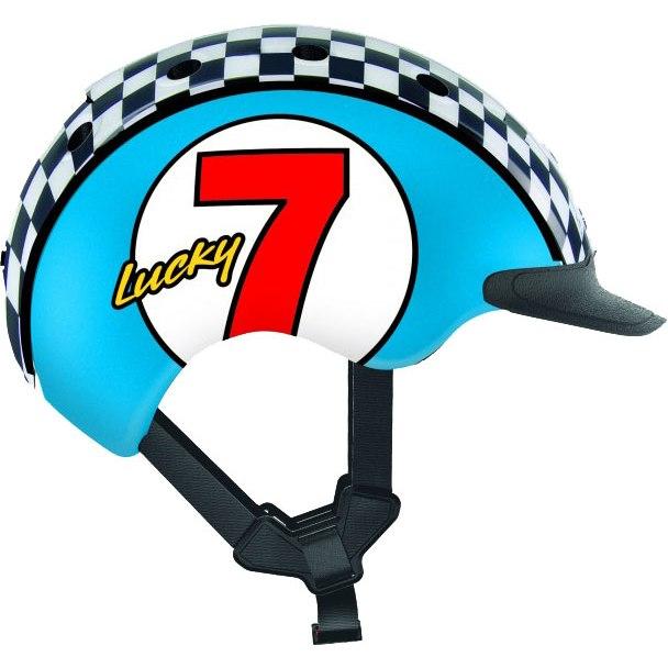 Casco Mini 2 Kids Helmet - Lucky 7 blue