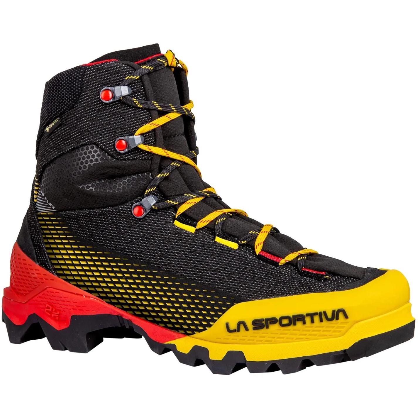 La Sportiva Aequilibrium ST GTX Mountaineering Schuhe - Schwarz/Gelb