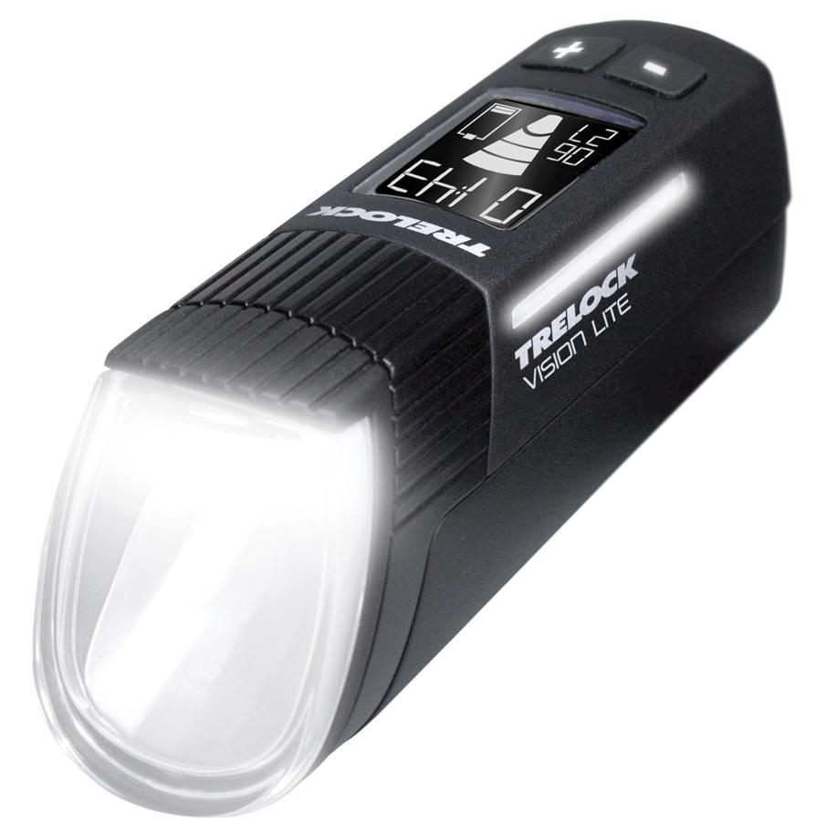 Trelock LS 660 I-GO Vision Lite Front Light - black