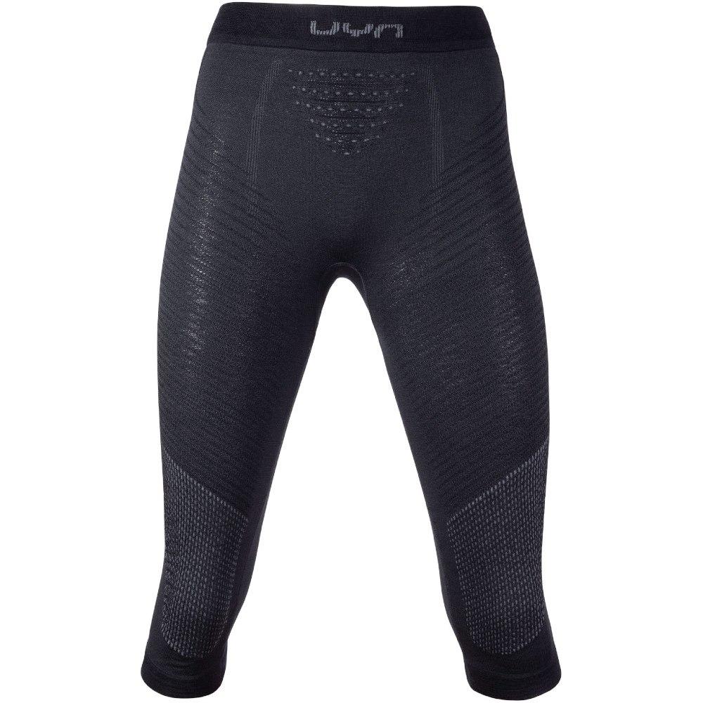 Image of UYN Fusyon Underwear 3/4 Pants Women - Black/Anthracite/Anthracite