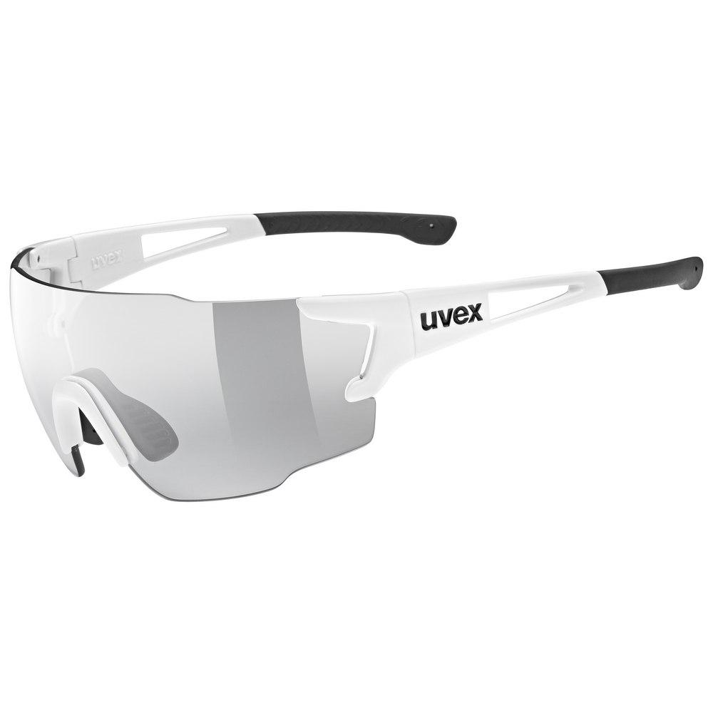 Uvex sportstyle 804 v - white/variomatic litemirror smoke Glasses