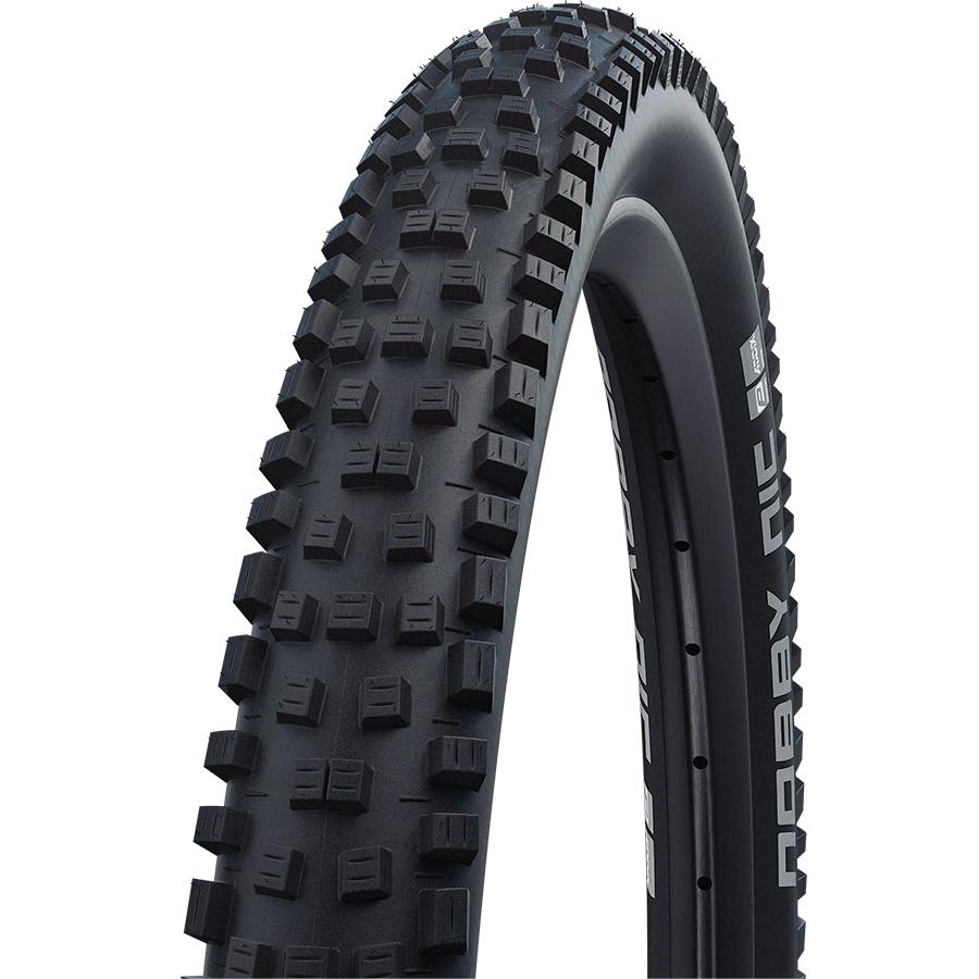 Image of Schwalbe Nobby Nic Performance MTB Folding Tire - Addix - E-50 - 27.5x2.6 Inches - Black