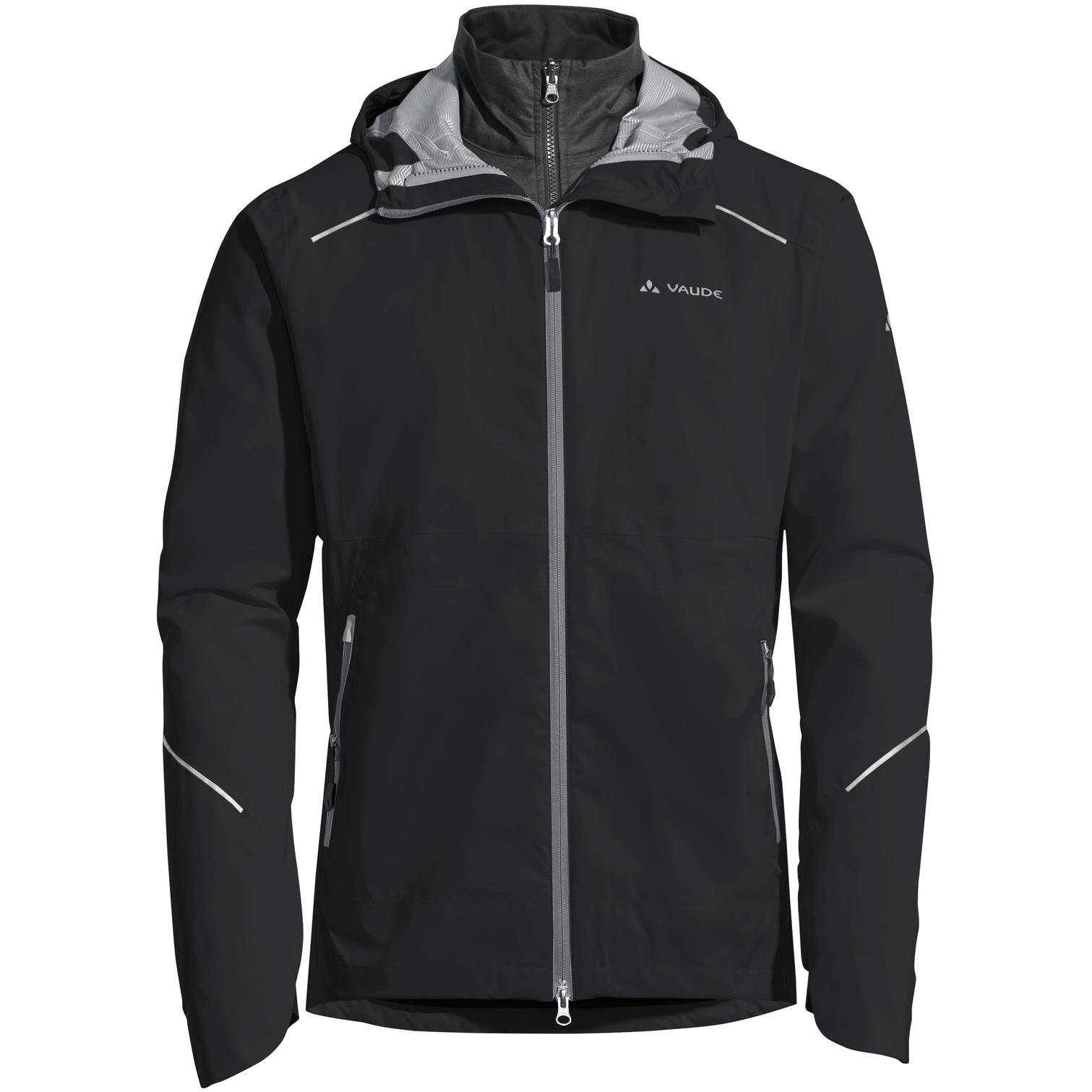 Image of Vaude Men's Yaras 3in1 Jacket - black uni