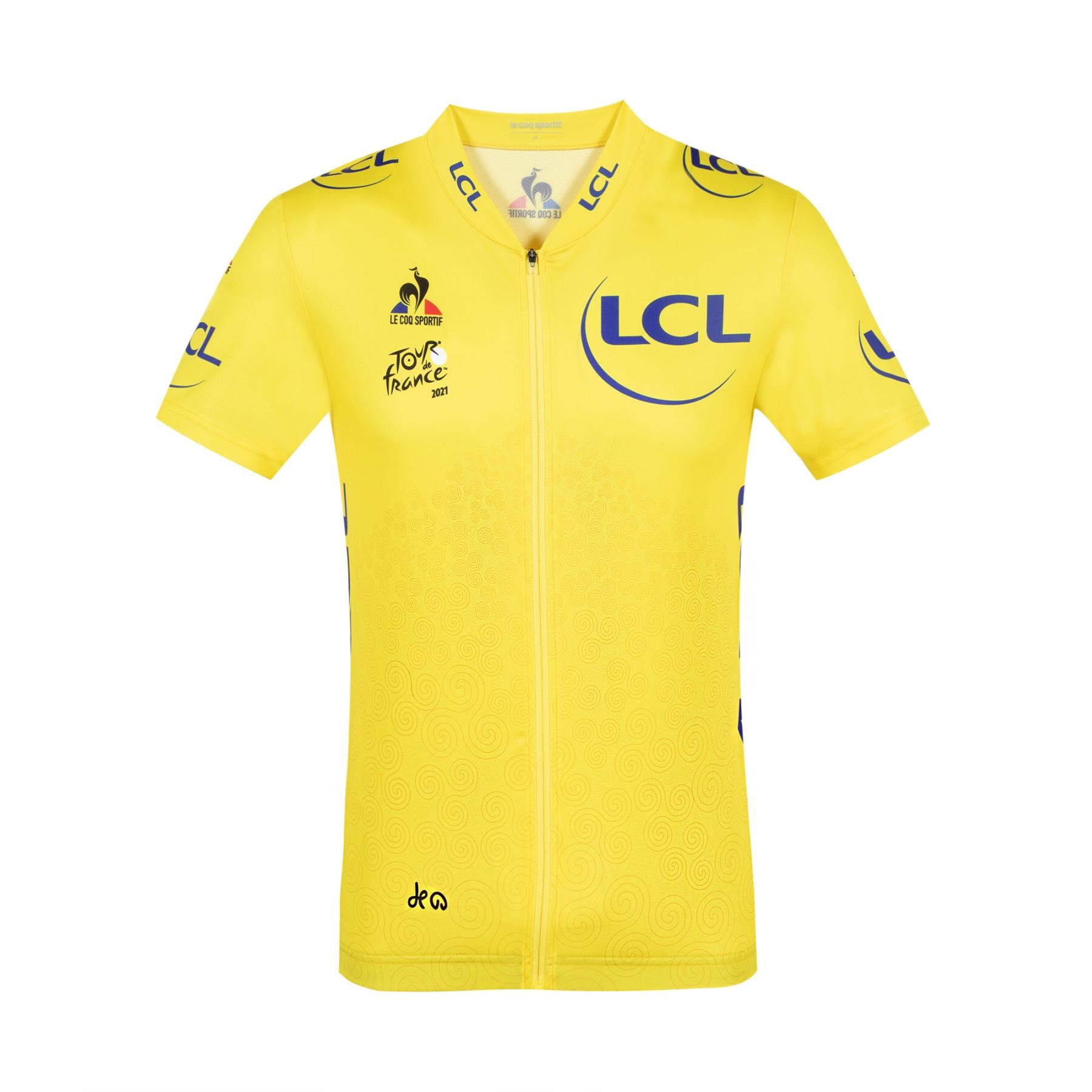 Le Coq Sportif Tour de France™ 2021 Collection Replica Kurzarm-Trikot - Gelb - Start