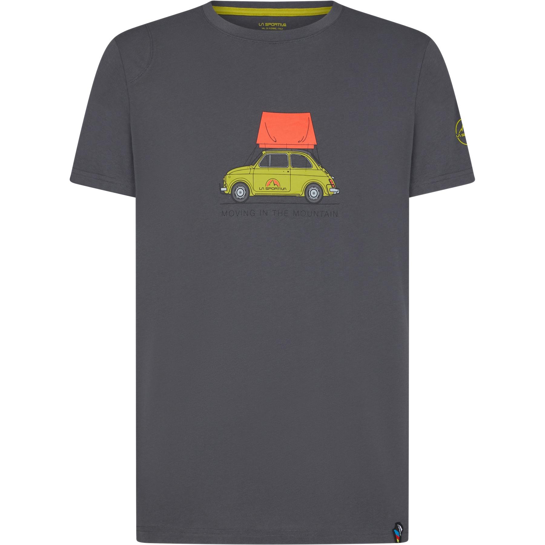 La Sportiva Cinquecento T-Shirt - Carbon/Kiwi