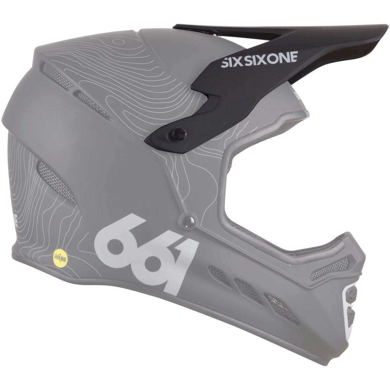 SIXSIXONE Reset Helm Visier - Contour Black