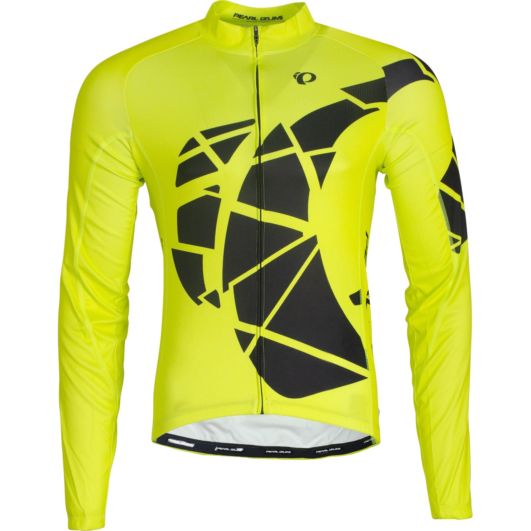 Produktbild von PEARL iZUMi Men's ELITE LTD Thermal Langarmtrikot 21121858 - big ip screaming yellow/black - GOP
