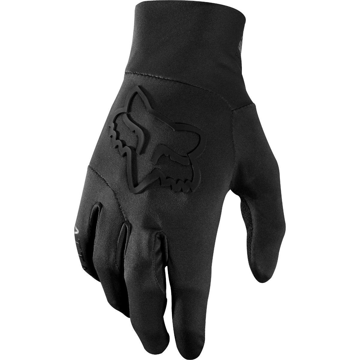 Fox Ranger Water Full Finger Gloves - black/black