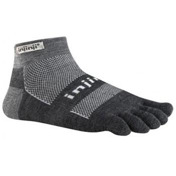 Produktbild von Injinji Outdoor Original Weight Micro NuWool Socks - charcoal