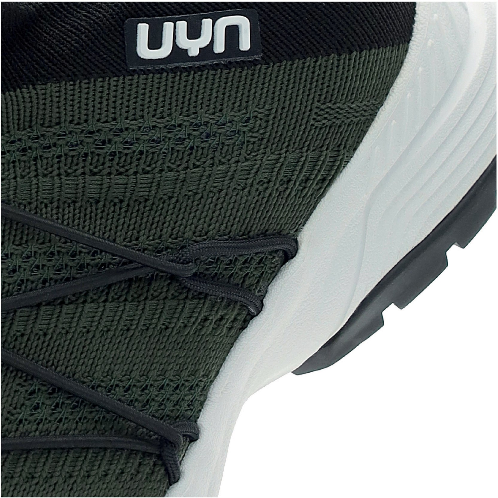 Image of UYN Free Flow Tune Running Shoes - Military Green