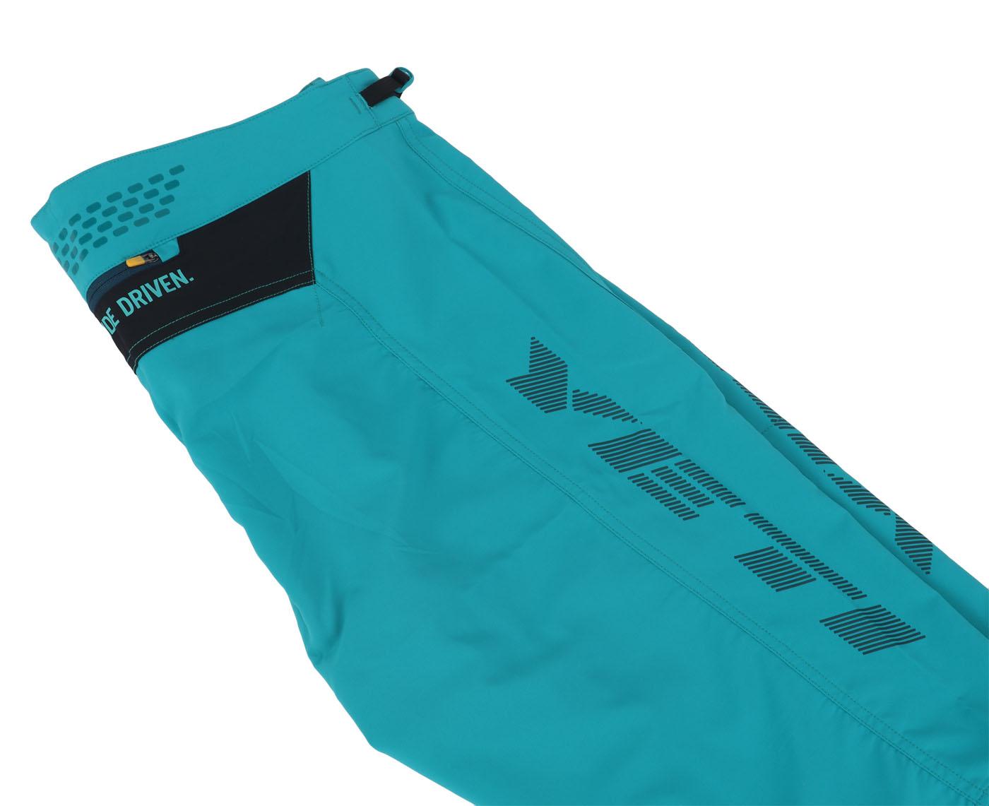 Image of Yeti Cycles Enduro Race Shorts - Turquoise