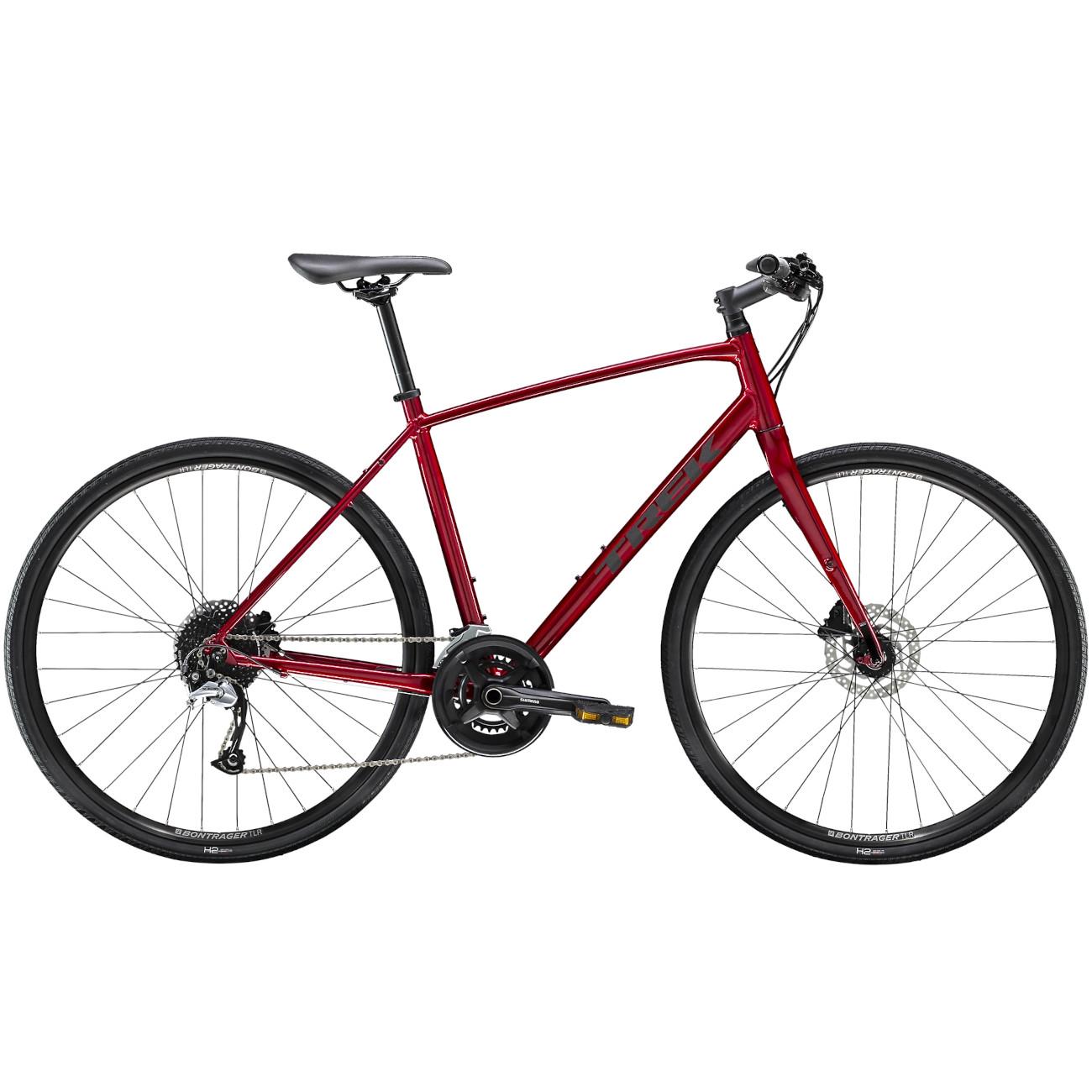 Trek FX 3 DISC Bicicleta de Fitness - 2021 - Rage Red