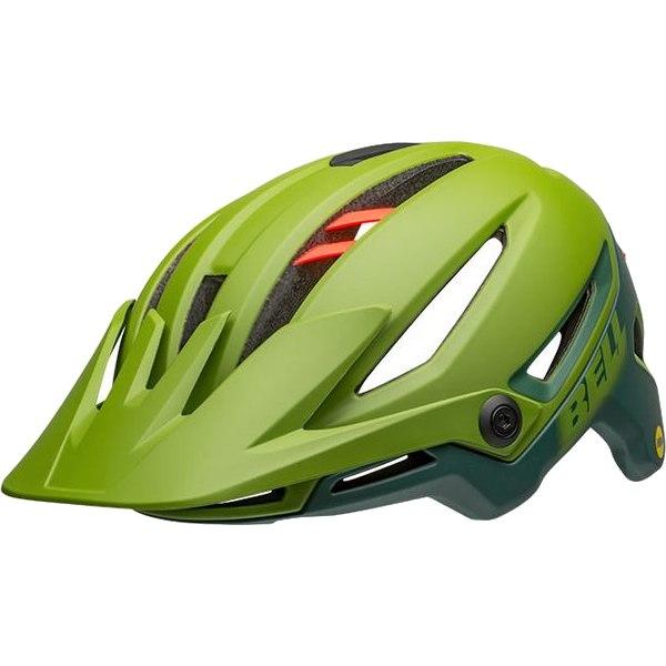 Bell Sixer MIPS Helmet - matte/gloss green/infrared