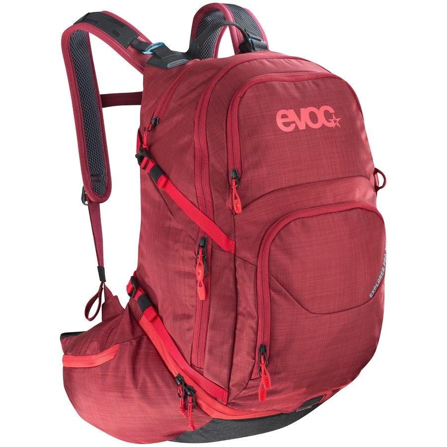 Evoc EXPLORER PRO - 26L Backpack - Heather Ruby