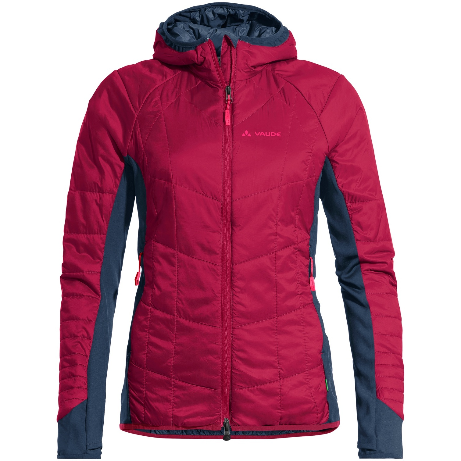 Image of Vaude Women's Sesvenna Jacket III - crimson red