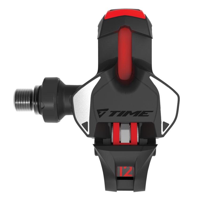 Foto de Time XPRO 12 Titanium Carbon Pedales carretera - negro / rojo