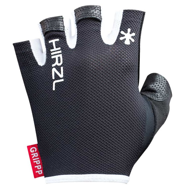 Image of Hirzl Grippp Light SF Short Finger Gloves - White/Black