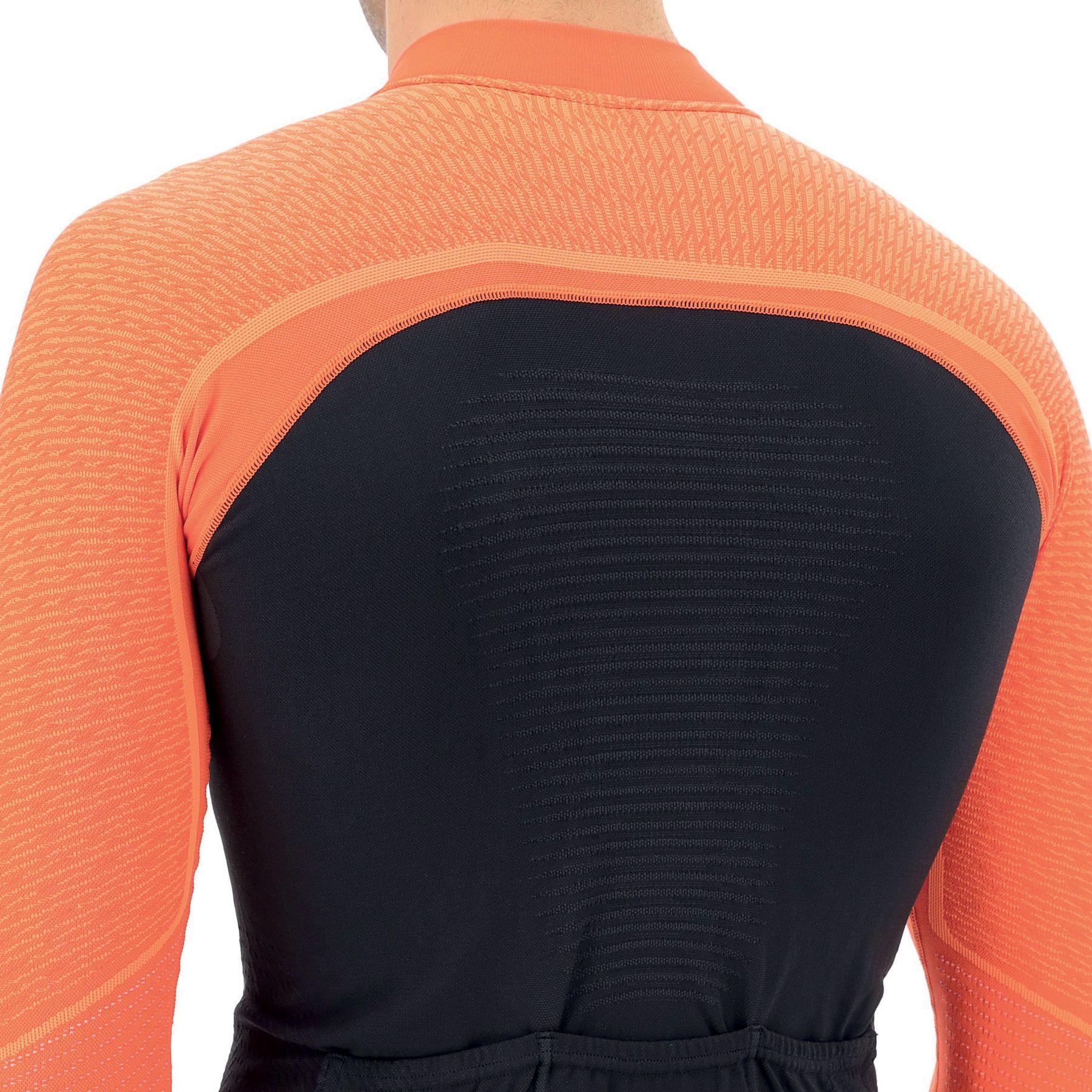 Image of UYN Biking Granfondo Long Sleeve Jersey - Blackboard/Ibis