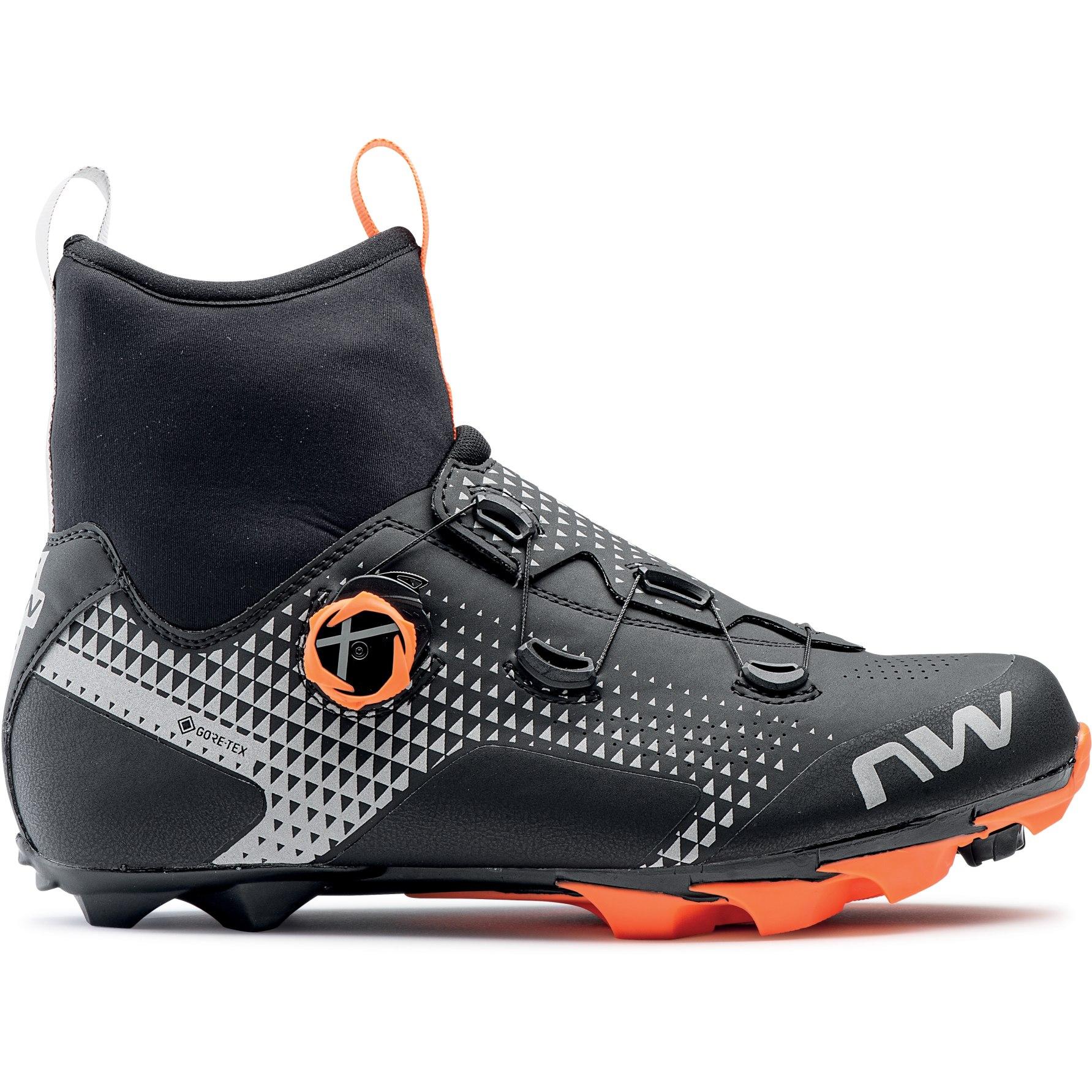 Northwave Celsius XC GTX MTB Schuhe - black/orange/reflective