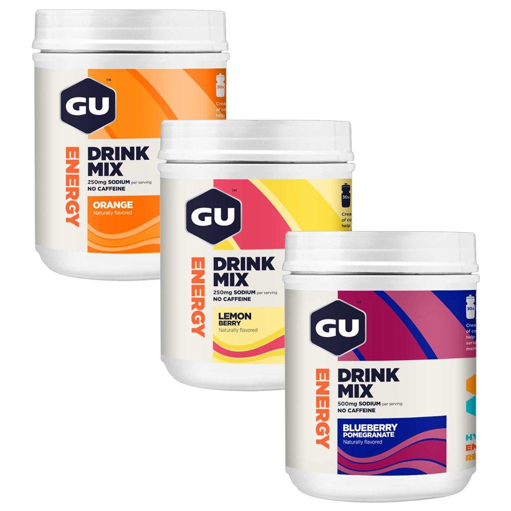 GU Energy Drink Mix - Electrolyte Carbohydrate Beverage Powder - 840g