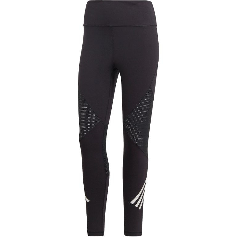 adidas Women's Believe This High-Rise 7/8 Strength 3S Tight - black/white DX0487
