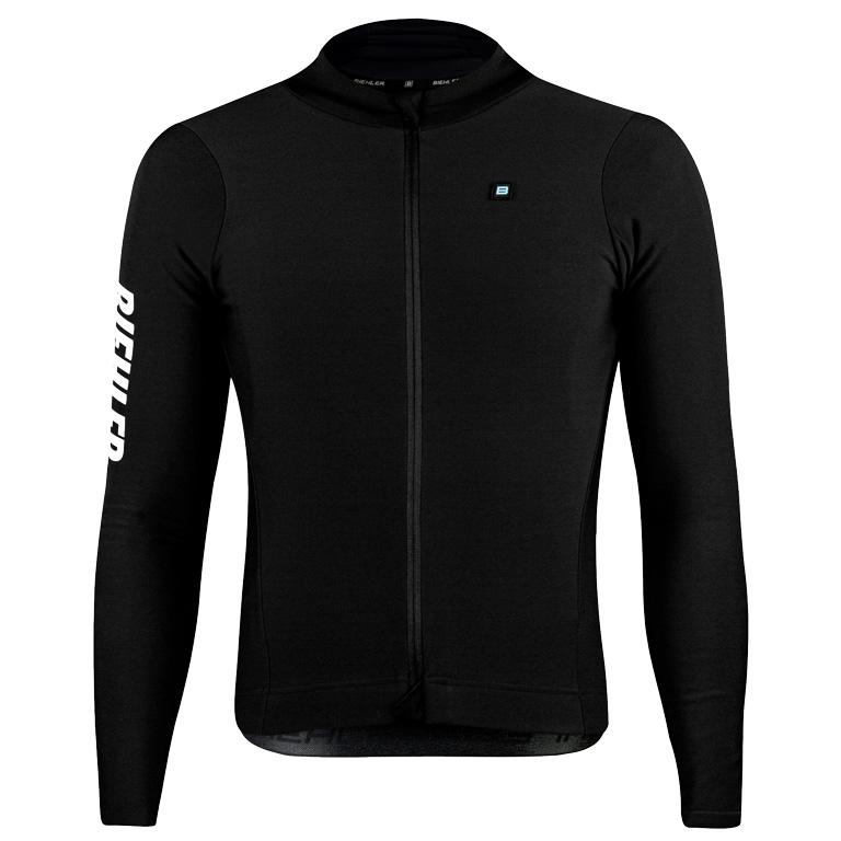 Biehler Thermal Rain Long-Sleeve Jersey - Black