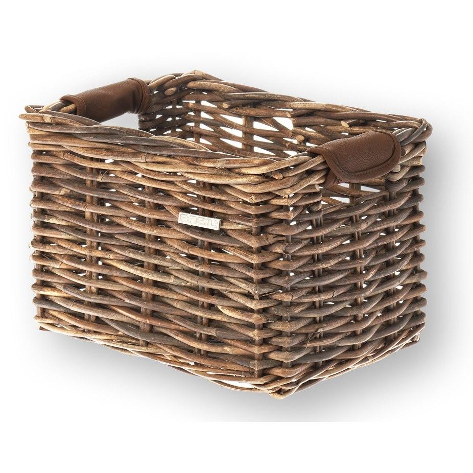 Basil Dorset Bike Basket - nature brown