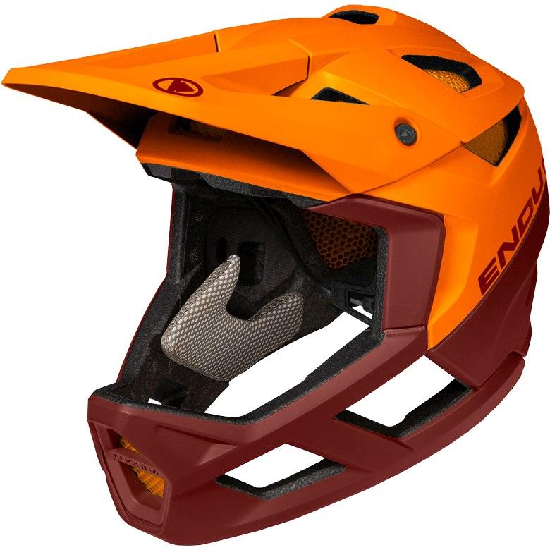 Endura MT500 Full Face Helmet - tangerine