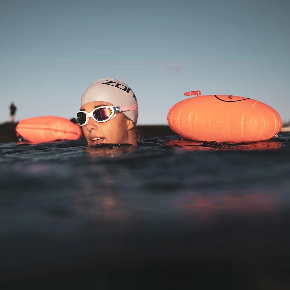 Bild von Zone3 Swim Safety Buoy / Tow Float - 28L Schwimmboje - neon pink