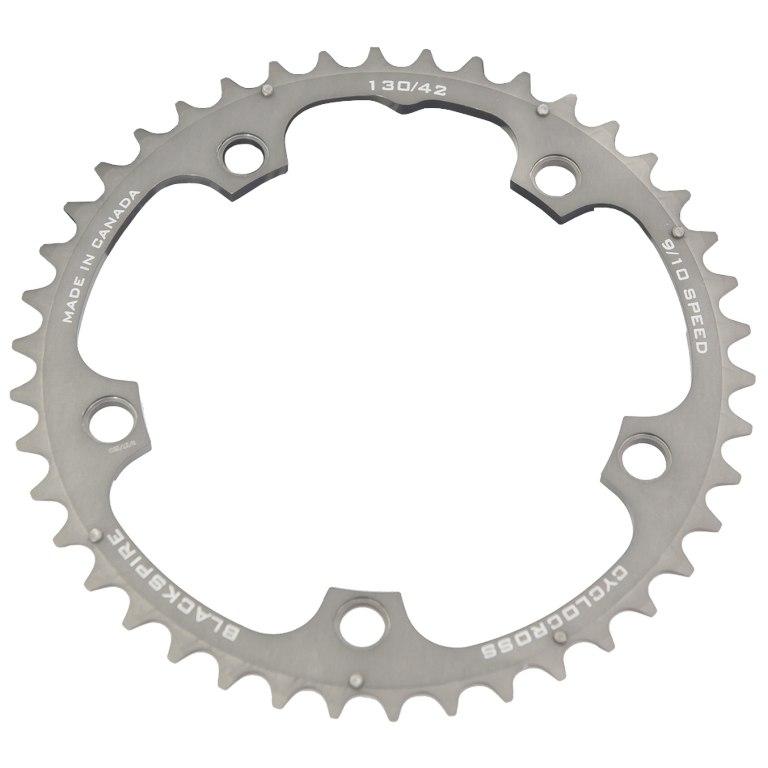 Blackspire Cyclocross Chainring - 5-Arm - 130mm - grey