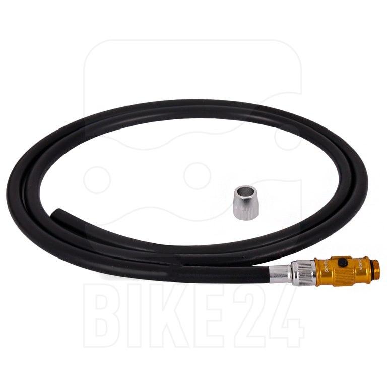 Lezyne Floor Pump Hose with ABS Flip-Thread Chuck for Pressure und MFD Pumps