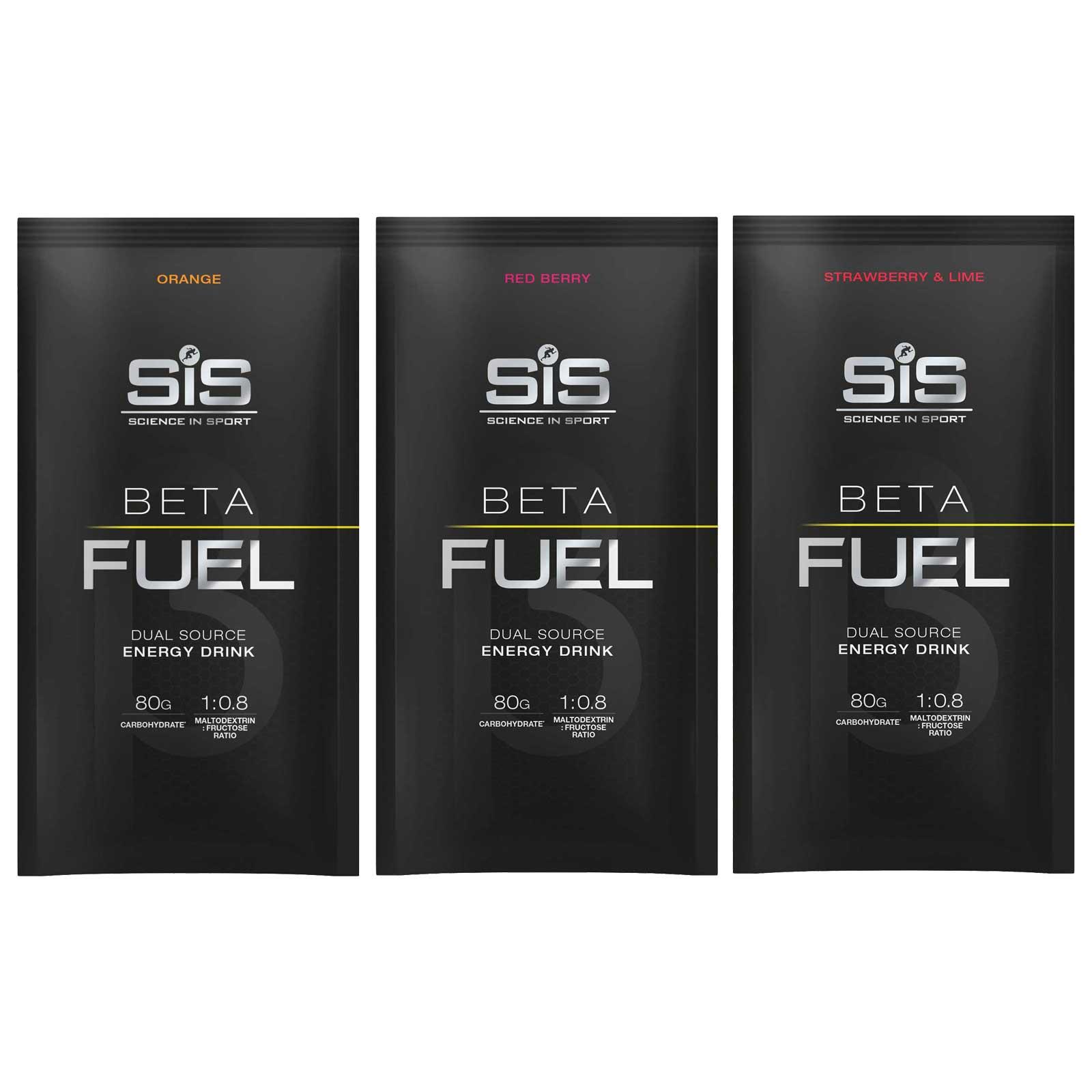 SiS Beta Fuel 80 - Bebida de Carbohidratos en Polvo - 82g