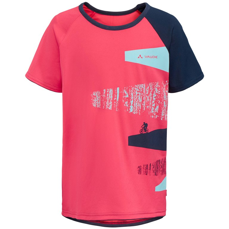 Vaude Kids Moab T-Shirt - bright pink