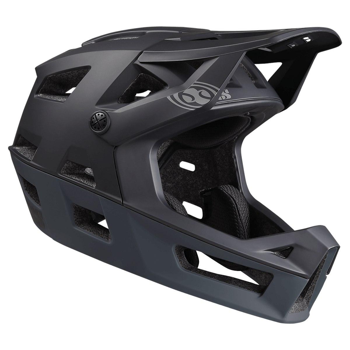 iXS Trigger Fullface Helm - black