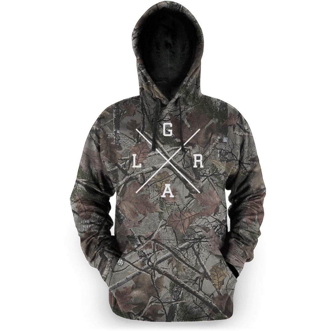 Loose Riders Pullover Hoodie - Foliage Camo