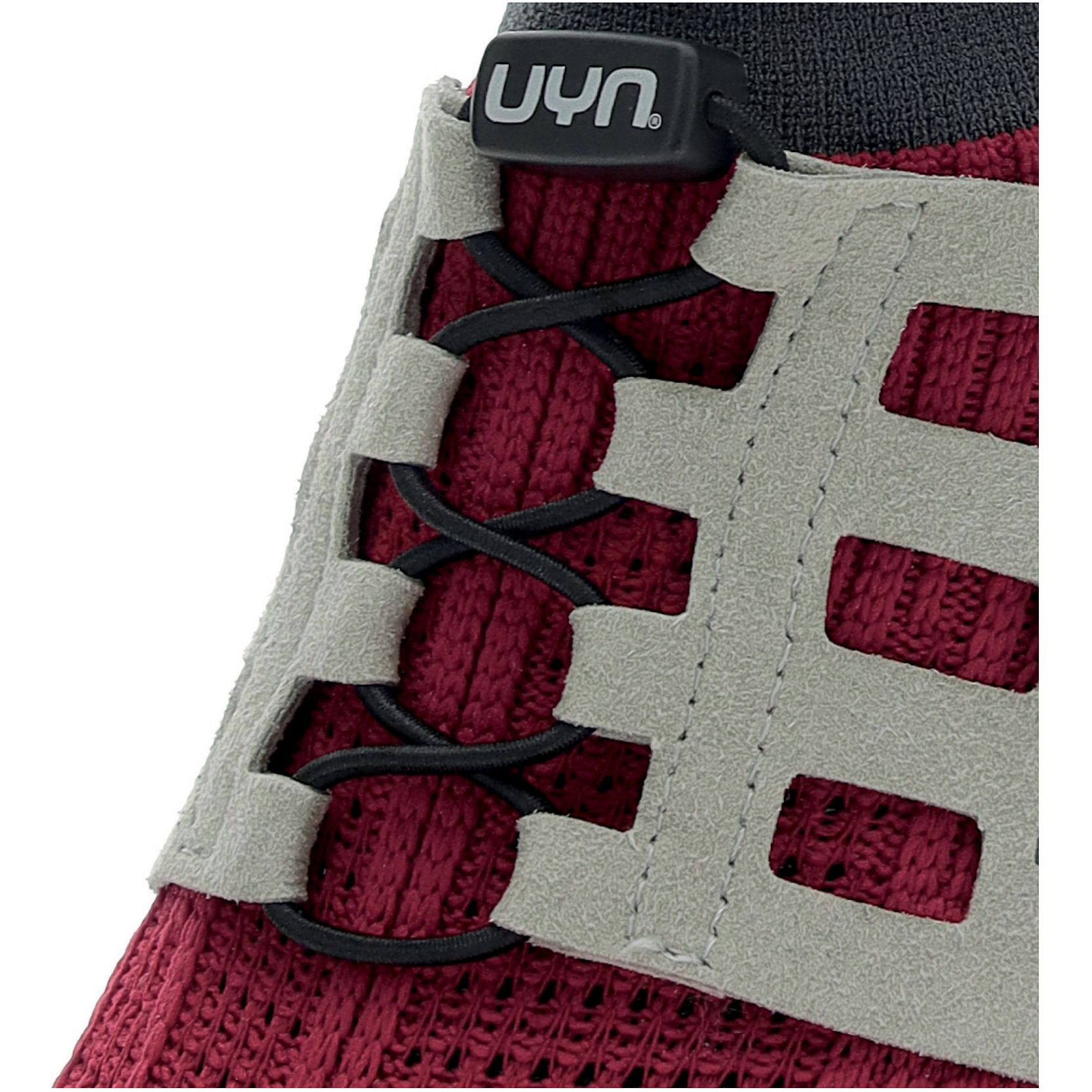 Image of UYN Nature Tune Running Shoes - Bordeaux/Grey