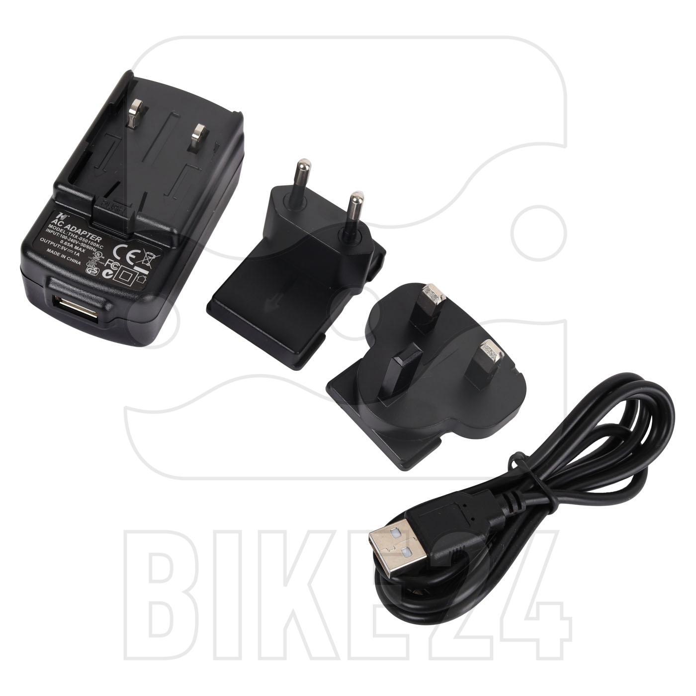 Mio Cyclo AC Adapter (EU+UK) USB