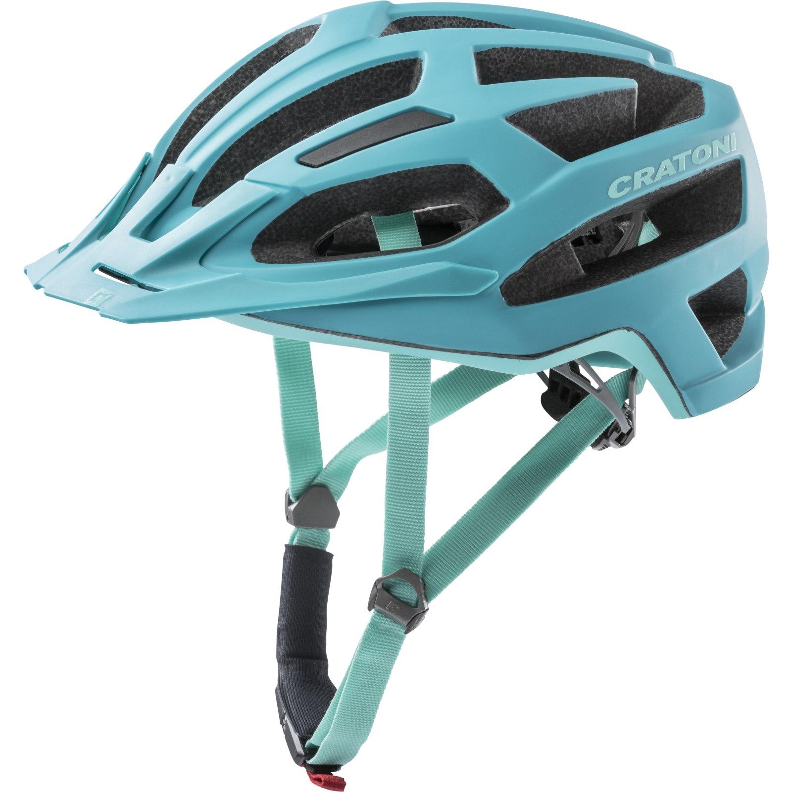 CRATONI C-Flash Helmet - turquoise-blue matt